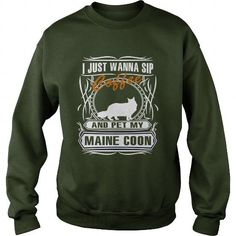 maine coon Crew Sweatshirts T-Shirts, Hoodies ==►► Click Order This Shirt NOW!