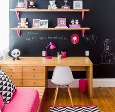 Muebles Room Interior, Interior Design Living Room, Girls Bedroom, Bedroom Decor, Bedroom Ideas, Bedrooms, Kids Decor, Home Decor, Little Girl Rooms