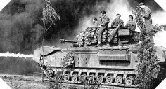 Tank Infantry Mk IV Churchill, this model appears to be a Crocodile version, judging by the strip of flame at the from of the tank. Ww2 Pictures, Ww2 Photos, Military Pictures, Churchill, D Day Invasion, Ww2 History, Ww2 Tanks, Panzer, British Army