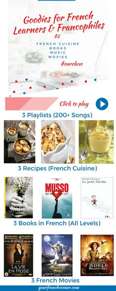 Goodies for French Learners and Francophiles #2 | Your French Corner