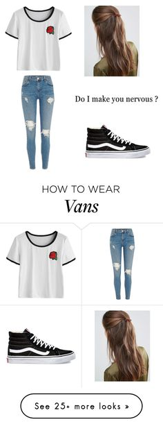 """Untitled #454"" by dream-believe-and-live on Polyvore featuring Vans and DesignB London"
