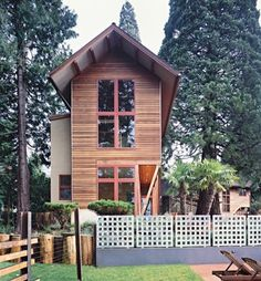 Very attractive and space-saving, too. Two Story Tiny House for Work, Guests or Living