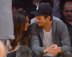 Then there's Mila Kunis and Ashton Kutcher. | 28 Celebrity Couples Who Will Restore Your Faith In Romance