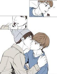 Image about exo in xiuchen by _kyung.soo_ on We Heart It K Pop, Exo Fanart, Exo Cartoon, Sad Comics, Nerd Problems, Exo Couple, Xiuchen, Hunhan, Baekhyun Chanyeol