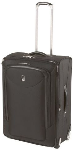 Travelpro Luggage Platinum Magna 26 Inch Expandable Rollaboard Suiter Black One Size * Want additional info? Click on the image. Note:It is Affiliate Link to Amazon.