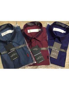06d6e6c4d3 Kit 3 UN - Camisa Social Masculina - Marcas Variadas - Roupas no Atacado