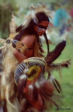 Image detail for -... Native American Traditional Fancy Dancer fine art print Fine Art Print