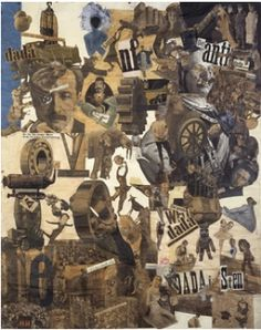 Hannah Hoch, Cut with the Dada Kitchen Knife Through the Last Weimar Beer Belly Cultural Epoch in Germany, 1919