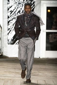 Joseph Abboud Fall-Winter - New York Fashion Week - Male Fashion Trends Stylish Mens Fashion, Mens Fashion Week, New York Fashion, Timeless Fashion, Joseph Abboud, Male Fashion Trends, Mens Attire, Mens Fall, Well Dressed Men