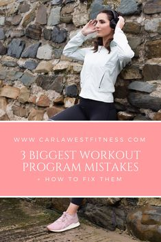 3 Biggest Workout Program Mistakes + How to Fix Them Training Programs, Workout Programs, Fitspiration, Personal Trainer, Mistakes, Purpose, Health Fitness, Wellness, Construction