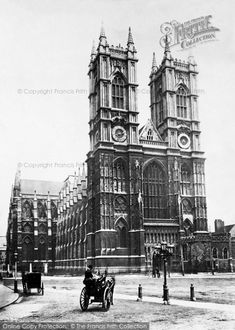 London, Westminster Abbey c.1867. This sublime abbey, scene of many coronations down the centuries, is probably the most famous of English religious buildings, and considered the pinnacle of European Gothic architecture.