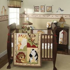 My baby african savannah room will be better, but i love the idea.