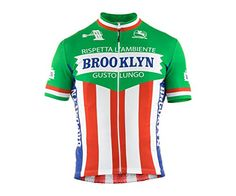 Giordana 2015 Mens Team Brooklyn Short Sleeve Cycling Jersey Italia XXLarge *** Find out more about the great product at the image link. This is an Amazon Affiliate links.