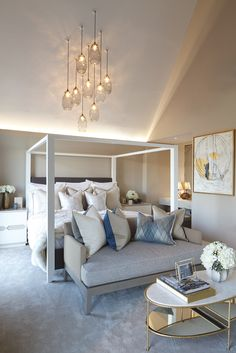 Fulham Riverside, a Developer project in London with interior design by Rachel Winham Interior Design. Completed in 2017.