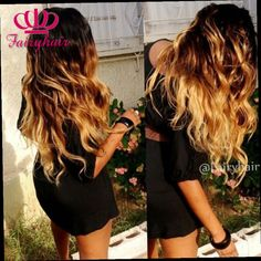 42.30$  Buy now - http://alirig.worldwells.pw/go.php?t=32784515785 - Fashion high quality ombre wigs heat resistant three tones blonde mixed ombre wavy glueless synthetic lace front women wigs
