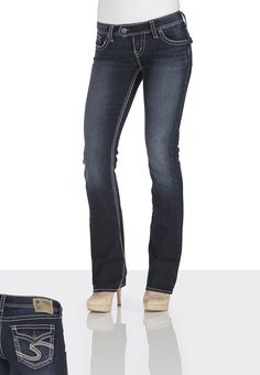 Silver Jeans Co.® Pioneer Destructed Jeans - maurices.com -- my ...