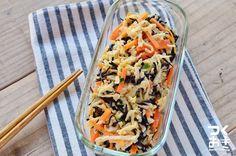 乾物使用で季節によらず作れるサラダ。温めなくても美味しいので、帰宅後すぐに夕飯として食べられることも嬉しい常備菜です。