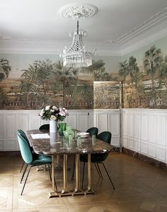 Idyllic interior design projects |an amazing and exotic home decor in the heart of Paris by Alix Thomsen |www.bocadolobo.com #interiordesignprojects #moderninteriors
