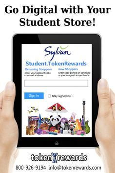 Customize the look of your online student store with your logo and your rewards!