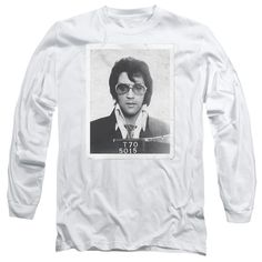 """Checkout our #LicensedGear products FREE SHIPPING + 10% OFF Coupon Code """"Official"""" Elvis / Framed - Long Sleeve Adult 18 / 1 - Elvis / Framed - Long Sleeve Adult 18 / 1 - Price: $29.99. Buy now at https://officiallylicensedgear.com/elvis-framed-long-sleeve-adult-18-1"""