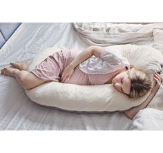 Poduszka dla kobiet w ciąży Poofi, sklep: Fabryka Wafelków, Wartość: 209 zł, Radość z bycia matką: bezcenne. Powyższy materiał nie stanowi ofery handlowej