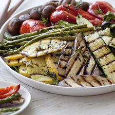 Giada's Grilled Vegetables