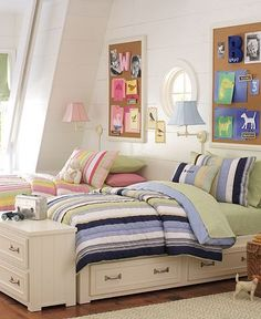 boy/girl shared bedroom