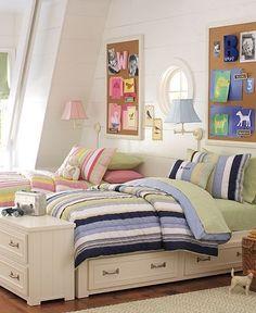 boy/girl shared bedroom