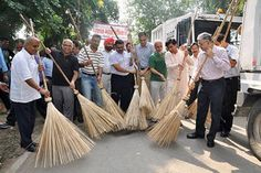 Swachh Bharat Mission: Government plans to 'totally clean' 50 cities by March 2017. The 50 towns will achieve targets including Open Defecation Free (ODF) status through construction of individual, public and community toilets; house-to-house collection of garbage and 100% processing of the same through a solid waste management plan besides spot penalties for littering.