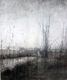 """Elizabeth Allison, Route 50, 2013, Watercolor On Paper, 65"""" x 51½"""" #art #bdg"""