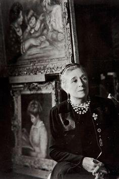Fashion designer Jeanne Lanvin.