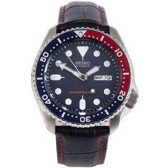 Seiko Automatic Divers Watch with Extra Strap Big Watches, Sport Watches, Cool Watches, Male Watches, Seiko Automatic Watches, Seiko Watches, Seiko Skx, Analog Watches, Cartier