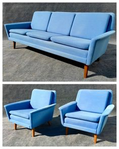 Folke Ohlsson sofa and lounge chairs