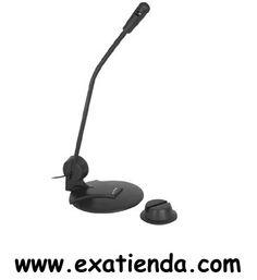 Ya disponible Micr?fono NGS ms102   (por sólo 9.99 € IVA incluído):   -Tipo: Jack 3.5mm estéreo -Impedancia: Baja -Gama de frecuencias :20 - 16 KHz -Sensibilidad: -62 dB ±3 dB -Normativa: CE -Longitud del cable 1.8 mts -Color negro  Garantía de 24 meses.  http://www.exabyteinformatica.com/tienda/1032-microfono-ngs-ms102 #microfono #exabyteinformatica