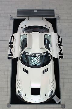 WOW....Just for Me....LOL....Has my initials!!!Mercedes-Benz SLS AMG racer