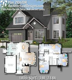 ideas for master closet design plans kitchens House Plans 2 Story, Sims 4 House Plans, 2 Story Houses, Small House Plans, Sims 2 House, Modern House Floor Plans, Family House Plans, Design Home Plans, Building Design