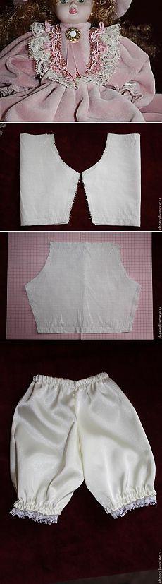 Cómo coser ropa para la muñeca, para aquellos que no pueden construir patrones - Maestros Feria - hechas a mano, hechos a mano