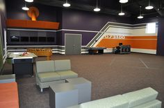 cool youth church rooms | Creative Theme for Riverbend Church, Austin, TX ~ Worlds of Wow Blog