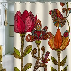 Valentina Ramos 'In The Garden' Shower Curtain