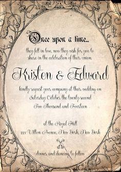 scroll wedding invitationstwooccasionsdesigns on etsy, invitation samples