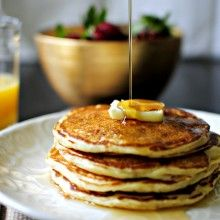 Simply Scratch » Whole Wheat Buttermilk Pancakes