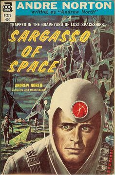 Sargasso of Space by Andrew North, aka Andre Norton was published in 1955. It's the first of the Solar Queen series.