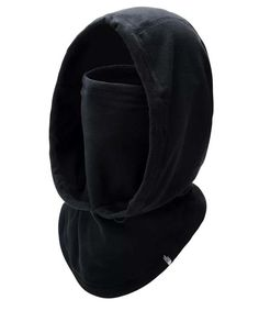 Fleece hood fits over the helmet for more warmth when the gusts get going. Winter Sports, The North Face, Helmet, Women's Fashion, Black, Fashion Women, Black People, Hockey Helmet, Hard Hats