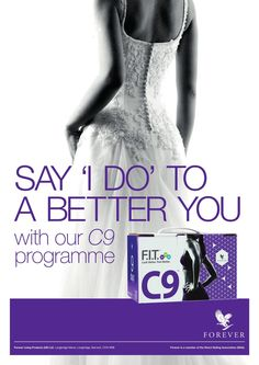 Is your #BigDay getting close fast? Your C9 box includes EVERTHING you'll need to achieve - including a detailed, but simple to follow plan. #BrideToBe #FITness http://wu.to/1sMDUS