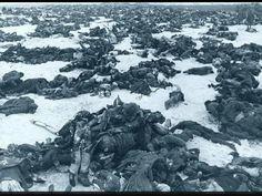 Dead German solders after the battle of Stalingrad 1943
