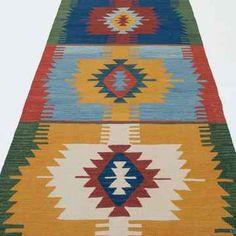 K0010799 New Turkish Kilim Runner Rug | Kilim Rugs, Overdyed Vintage Rugs, Hand-made Turkish Rugs, Patchwork Carpets by Kilim.com