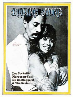 1971 Rolling Stone Covers Pictures - RS93 (Oct. 14, 1971): Ike & Tina Turner | Rolling Stone cover photo by Annie Leibovitz