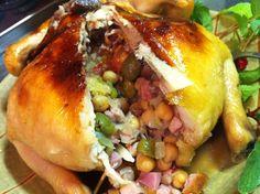 リンゴジュースで芳醇やらか!丸鶏ローストチキンは美味しい : シカのレシピ萬覚帳