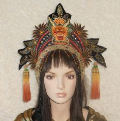 Made To Order Fantasy Chinese Asian Queen Princess by MIMSYCROWNS, $625.00