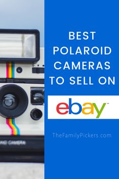 Even in this digital age, Polaroid cameras are still popular and people still buy them. In fact, Polaroid cameras (and other brands on instant film cameras) are still being made today. Vintage Polaroid Camera, Polaroid Cameras, Ebay Selling Tips, Selling Online, Successful Online Businesses, Small Businesses, Instant Film Camera, Vintage Jewelry Crafts, Money Makers